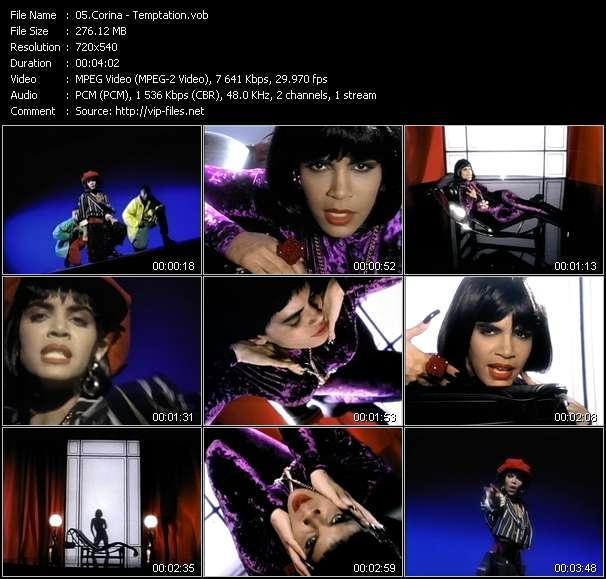 Corina video screenshot