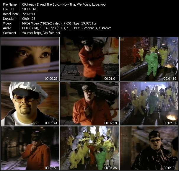 Heavy D And The Boyz video screenshot