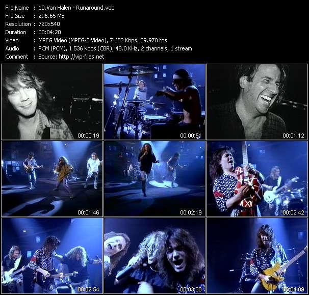 Van Halen video screenshot