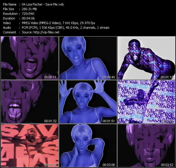 Lisa Fischer video screenshot