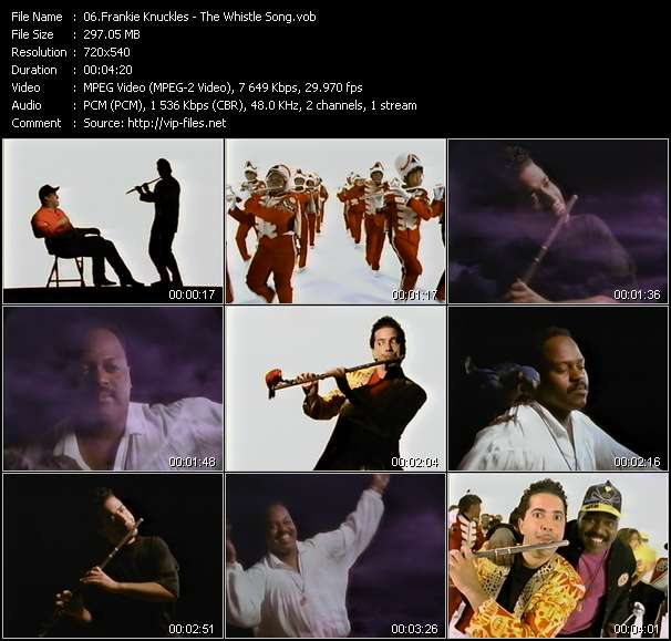 Frankie Knuckles video screenshot
