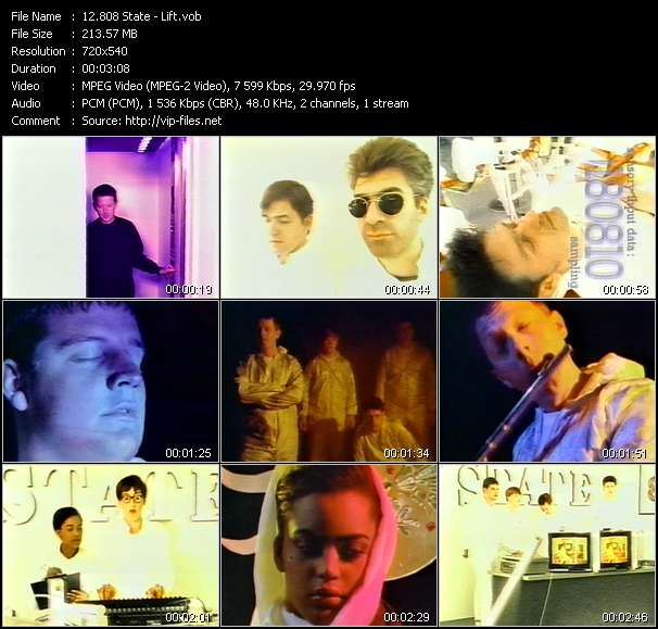 808 State video screenshot