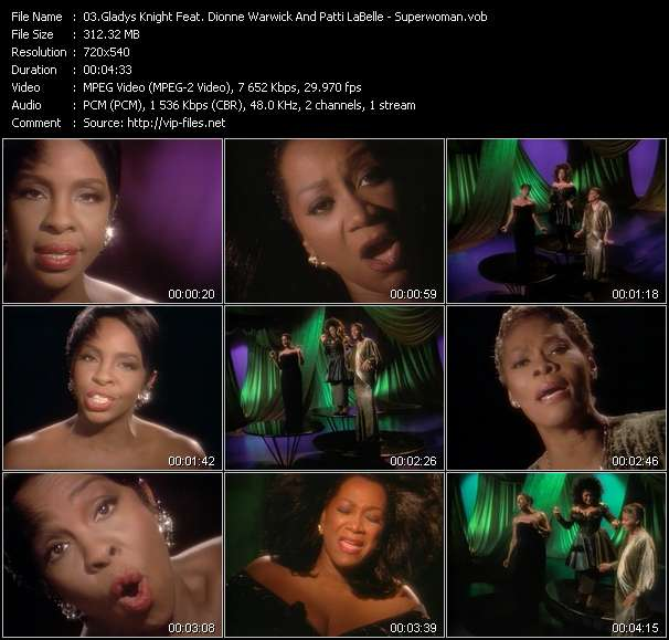 Gladys Knight Feat. Dionne Warwick And Patti LaBelle video screenshot