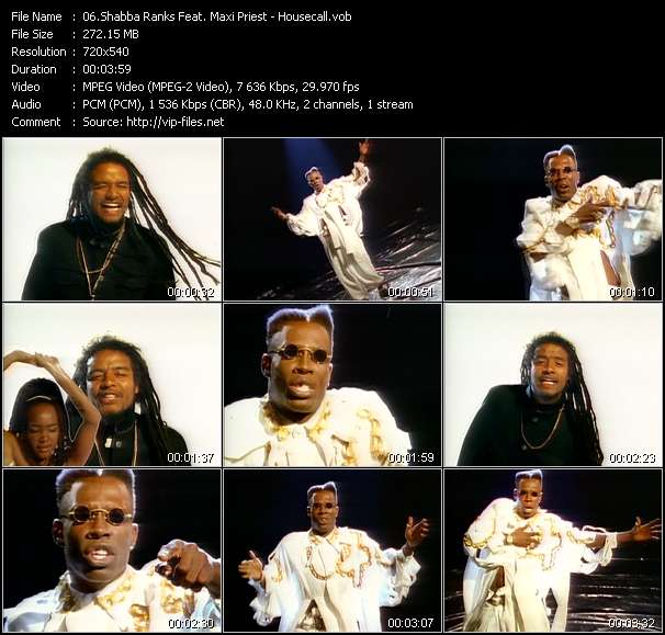 Shabba Ranks Feat. Maxi Priest video screenshot