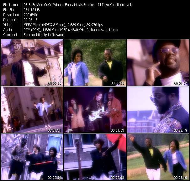 BeBe And CeCe Winans Feat. Mavis Staples video screenshot