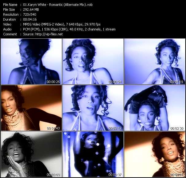 Karyn White video screenshot