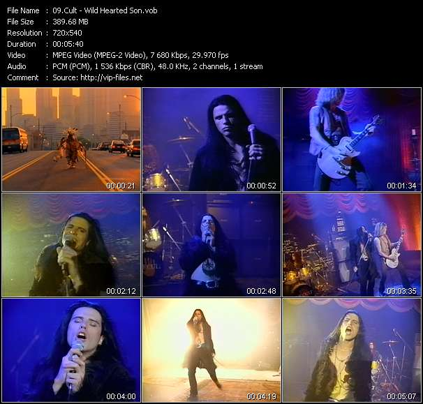 Cult video screenshot