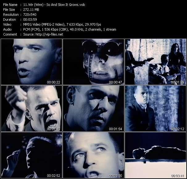 Wir (Wire) video screenshot
