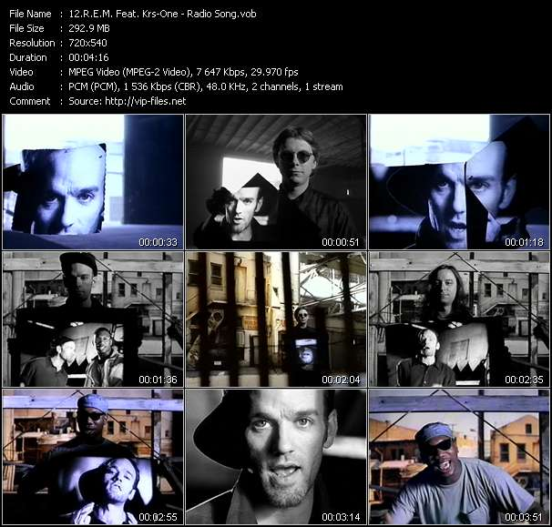 R.E.M. Feat. Krs-One video screenshot