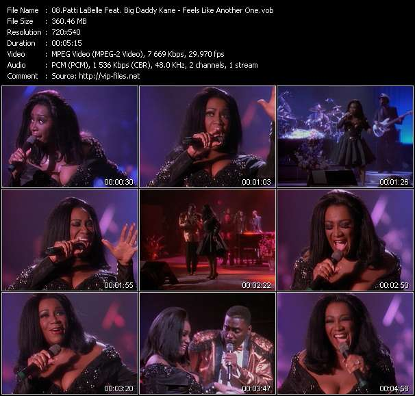 Patti LaBelle Feat. Big Daddy Kane video screenshot