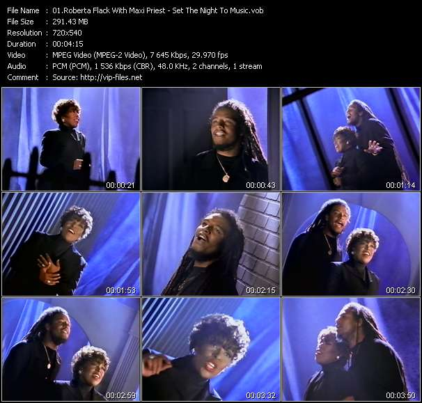 Roberta Flack With Maxi Priest video screenshot