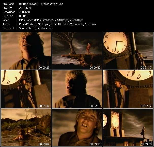 Rod Stewart video screenshot