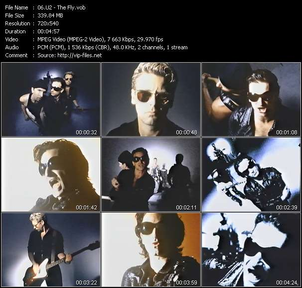 U2 video screenshot