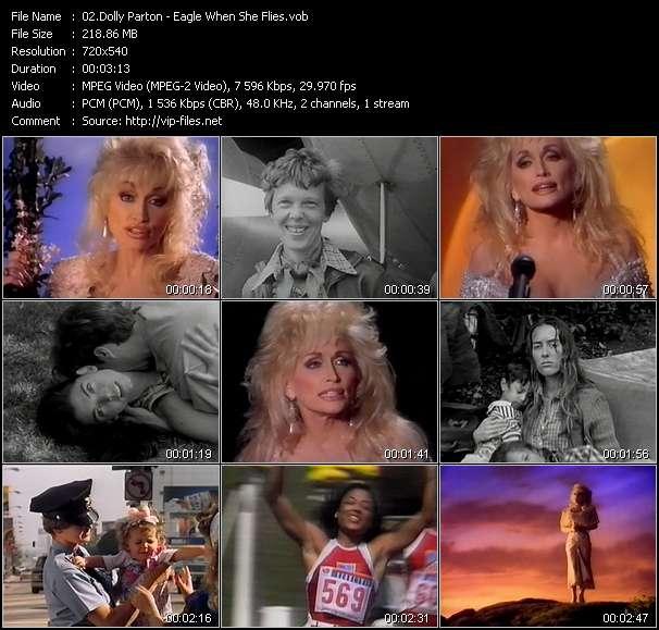 Dolly Parton video screenshot
