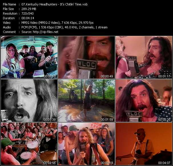 Kentucky Headhunters video screenshot