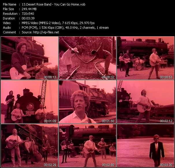 Desert Rose Band video screenshot