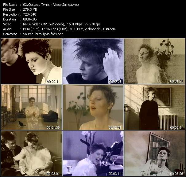 Cocteau Twins video screenshot