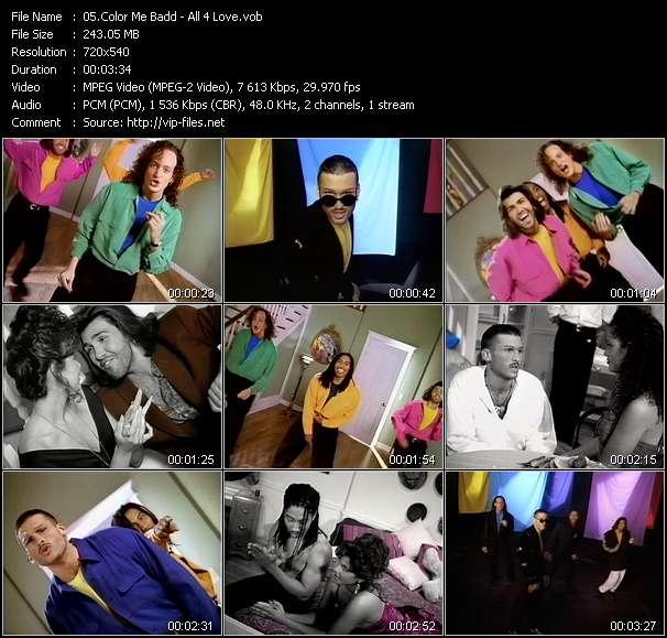 Color Me Badd video screenshot