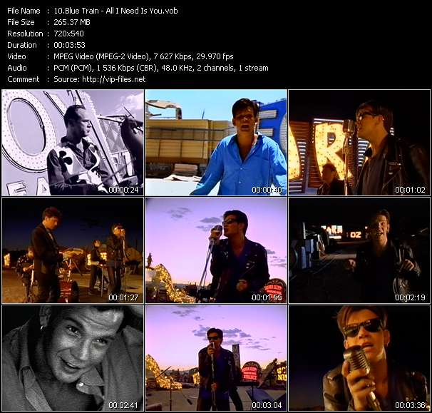 Blue Train video screenshot