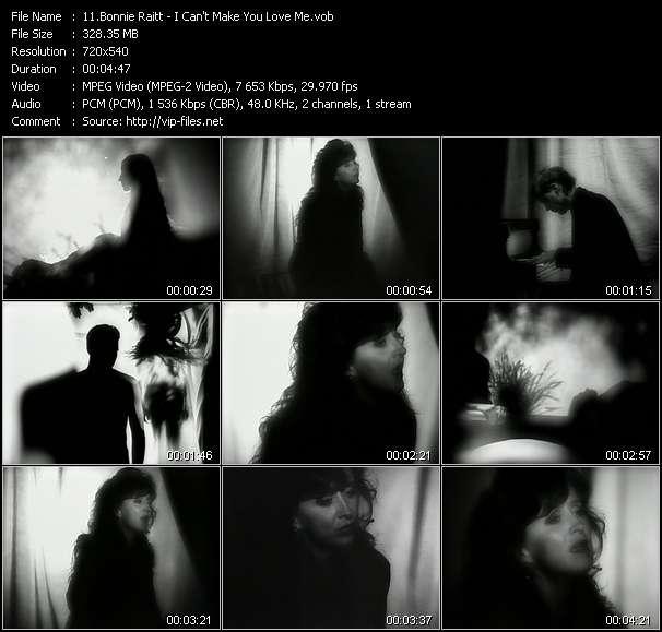 Bonnie Raitt video screenshot