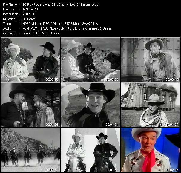 Roy Rogers And Clint Black video screenshot