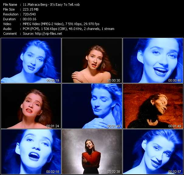 Matraca Berg video screenshot