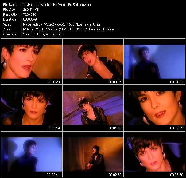 Michelle Wright video screenshot