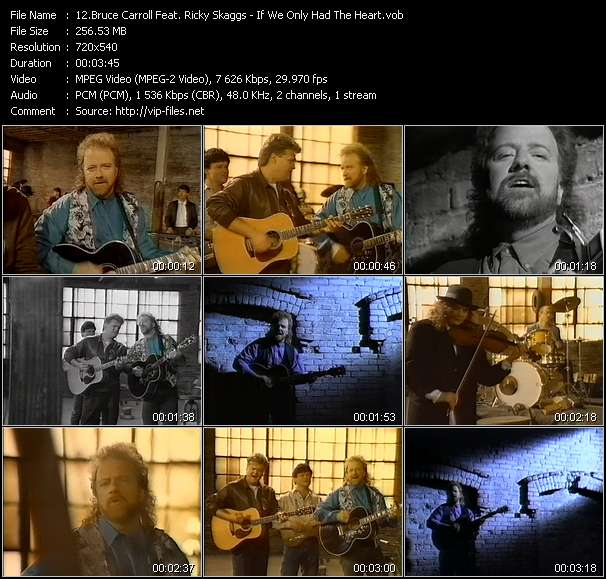 Bruce Carroll Feat. Ricky Skaggs video screenshot