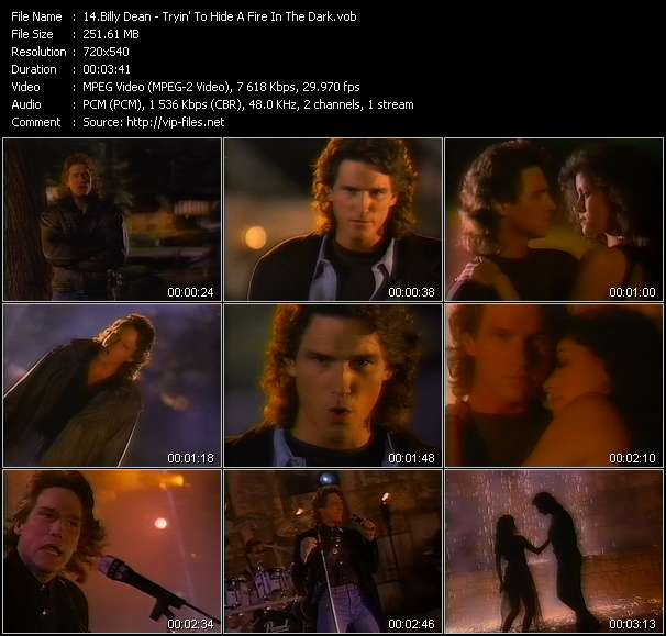 Billy Dean video screenshot