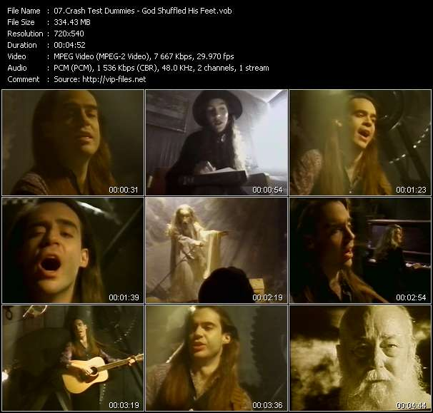 Crash Test Dummies video screenshot