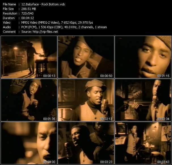 Babyface video screenshot