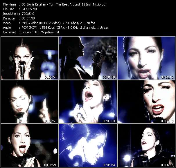 Gloria Estefan video screenshot