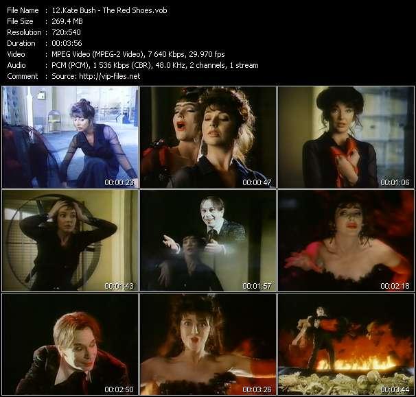 Kate Bush video screenshot