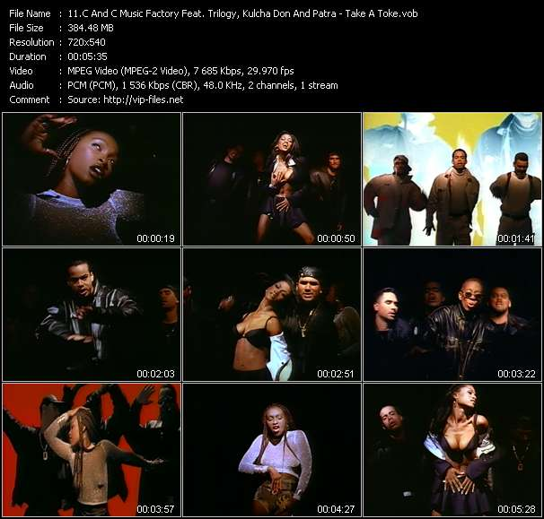 C And C Music Factory Feat. Trilogy, Kulcha Don And Patra video screenshot