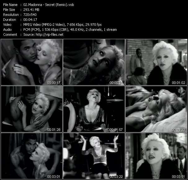 video Secret (Remix) screen
