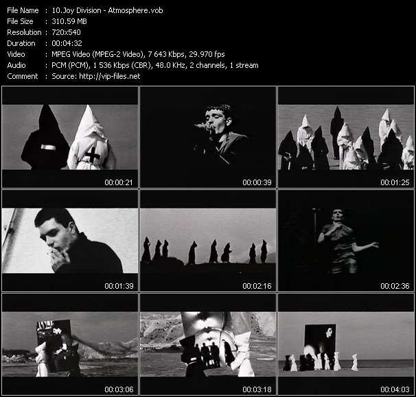 Joy Division video screenshot