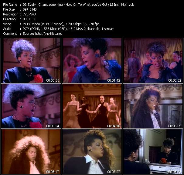 Evelyn King (Evelyn Champagne King) video screenshot