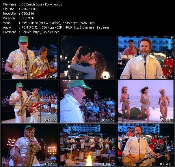Beach Boys video screenshot