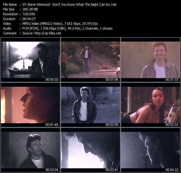 Steve Winwood video screenshot
