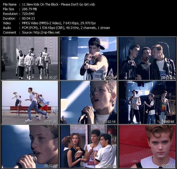 New Kids On The Block video screenshot