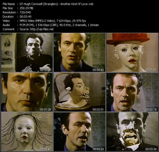 Hugh Cornwell (Stranglers) video screenshot