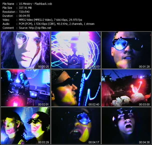 Ministry video screenshot