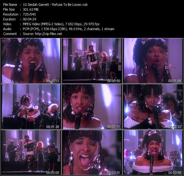 Siedah Garrett video screenshot