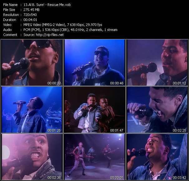 Al B. Sure! video screenshot