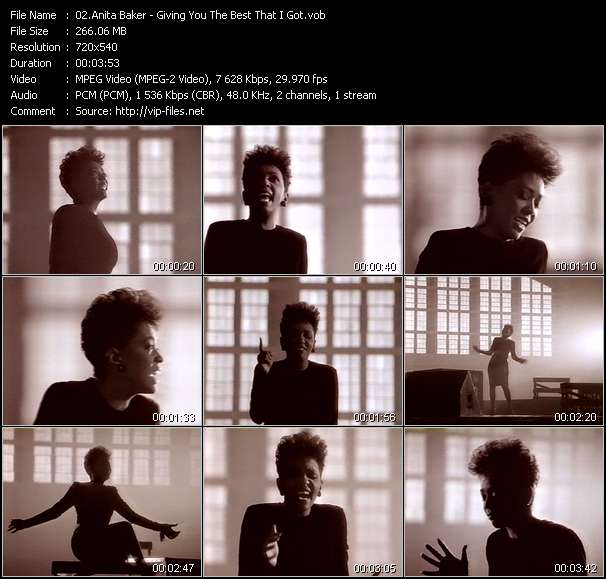 Anita Baker video screenshot
