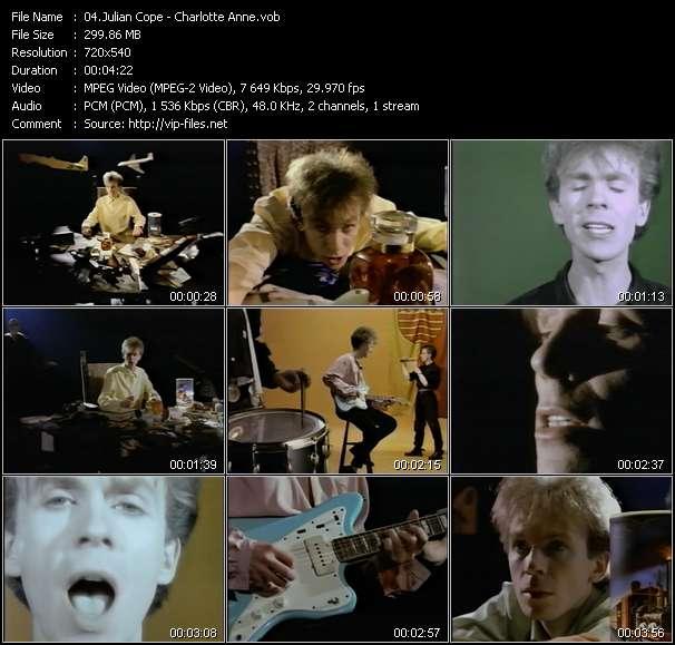 Julian Cope video screenshot