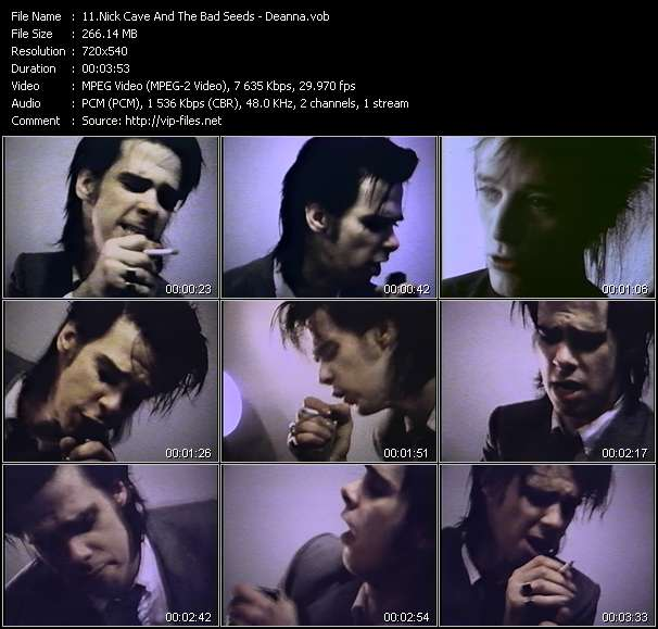 Nick Cave And The Bad Seeds video screenshot