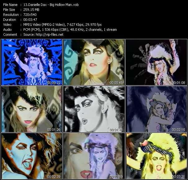Danielle Dax video screenshot