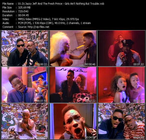 Dj Jazzy Jeff And The Fresh Prince video screenshot