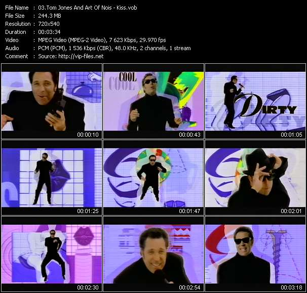 Tom Jones And Art Of Nois video screenshot